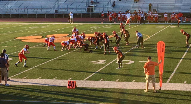 JV Shuts Out Mills 23-0