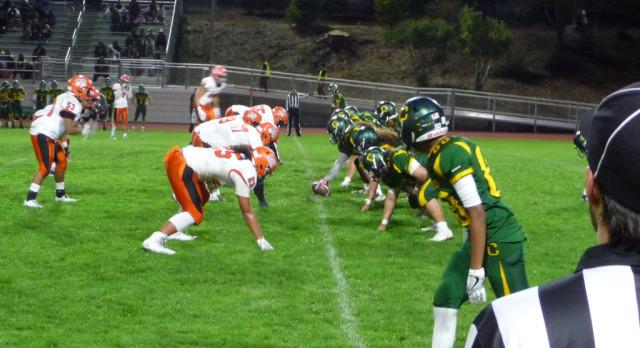 Varsity Football falls to Capuchino 14-10