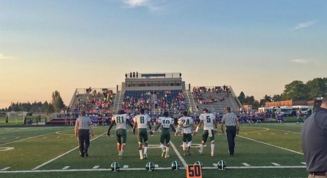 Parkrose High School Varsity Football beat La Salle Catholic College Preparatory 31-26