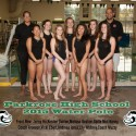 Girls Water Polo – 2015 Team Pic