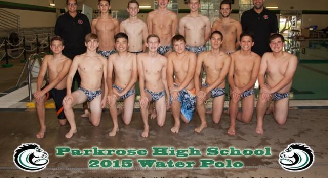 2015 Boys Water Polo