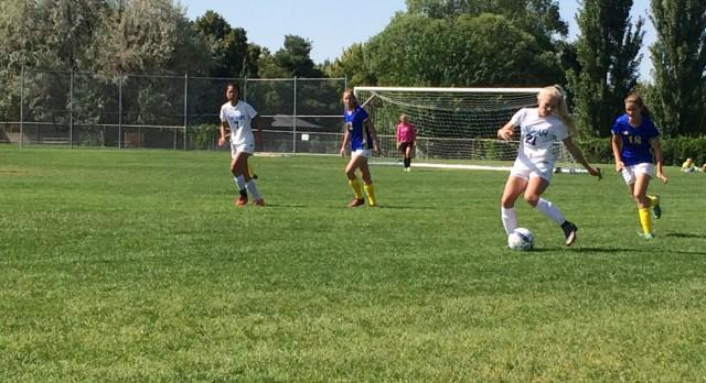 Bingham High School Girls Varsity Soccer beat Taylorsville High School 3-0