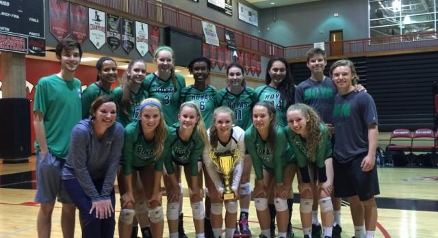 Lady Hoya Volleyball wins County