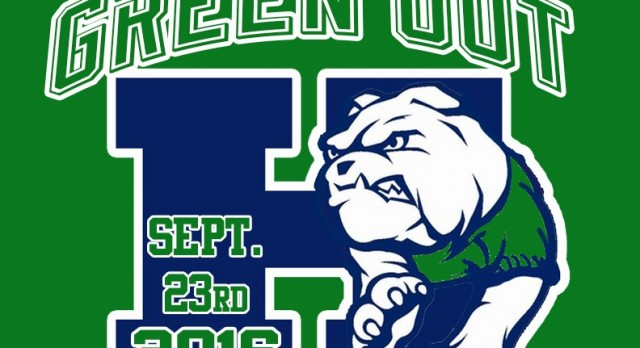 Green out vs. Allatoona on Friday