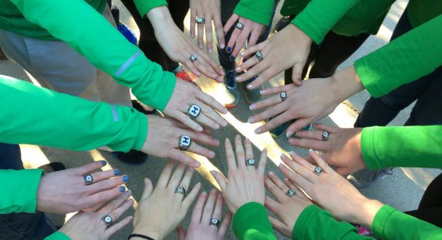 Lady Hoya XC receives their rings