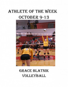 ATHLETE OF THE WEEK-blatnik