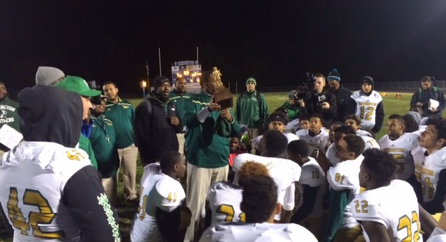 WHS Football NIC South Co-Champs!