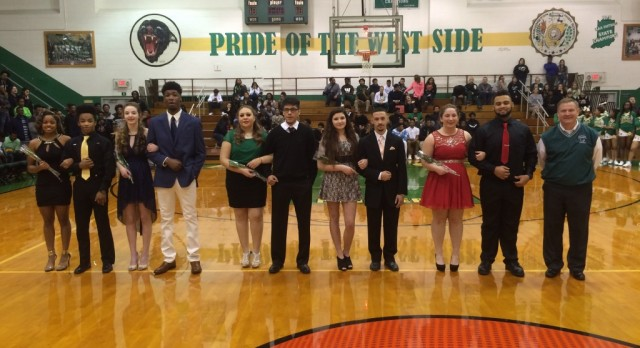 Boys Basketball and Winter Homecoming Court Tonight !
