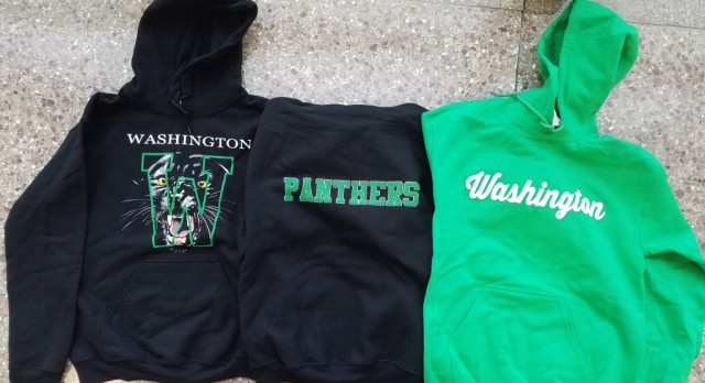 Washington has elevated their game in apparel!