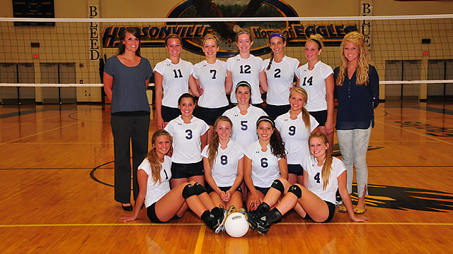 Varsity Volleyball Headed to District Finals