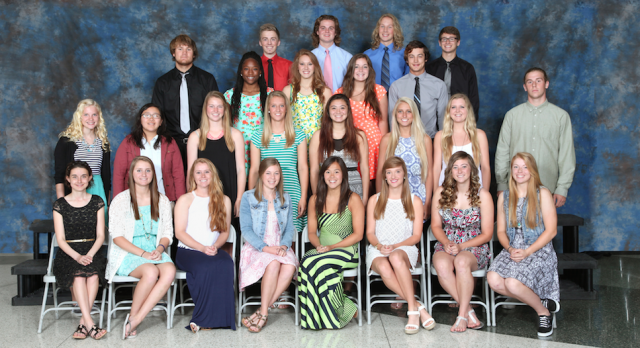 Hudsonville OK Red All Conference Spring Athletes