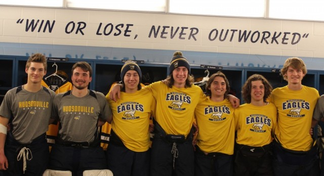 Hudsonville High School Boys Varsity Hockey beat Northview High School 4-2