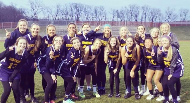 Girl's Lacrosse Defeats Lowell 8-5