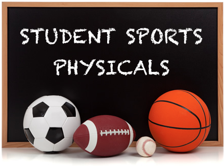 Student Sports Physicals June 6