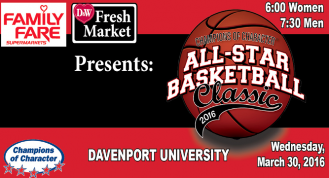 Champions of Character Basketball All Star Game Information