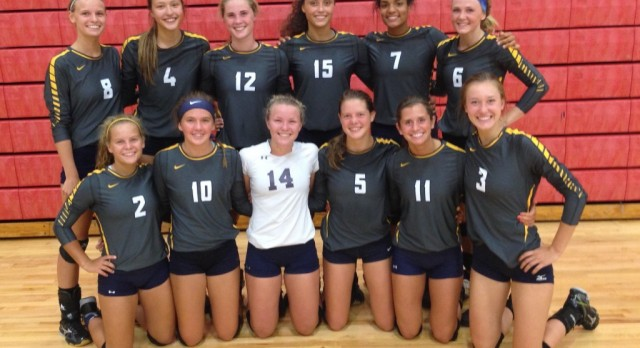 Varsity Volleyball Goes Undefeated