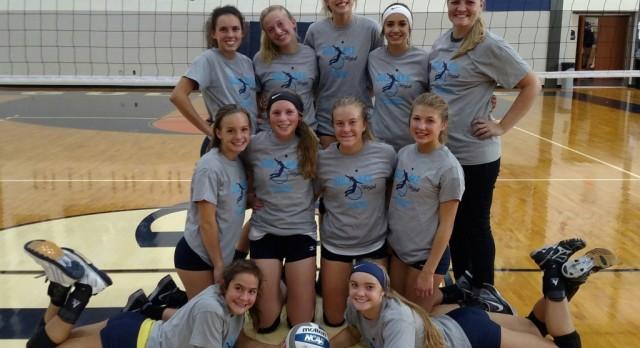 Freshmen Volleyball Continue Winning Ways