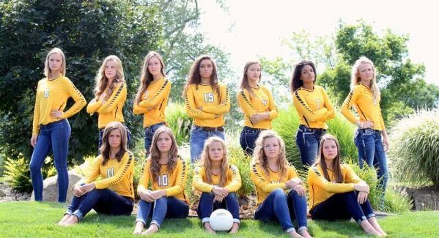 Varsity Volleyball Falls To Grandville