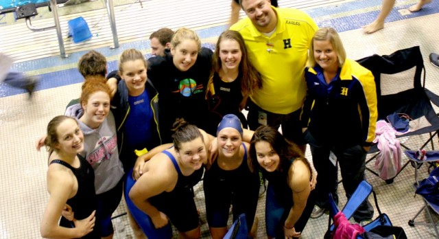 Hudsonville Swims Well at MISCA meet