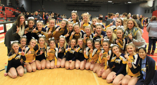 Varsity Competitive Cheer Off to a Strong Start