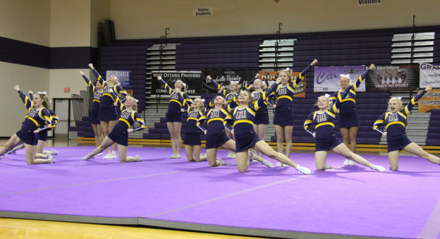 Competitive Cheer Advances to Regional Finals