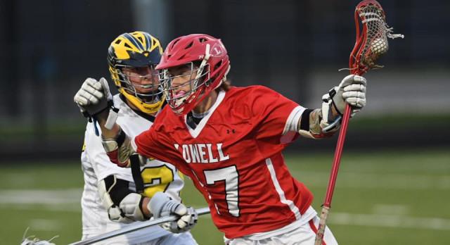 Varsity Boys Lacrosse Defeats Lowell 13-8