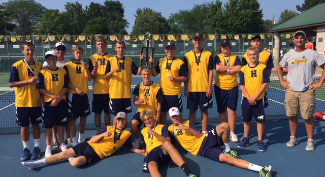 Boy's Tennis Team Wins First Three Invitationals