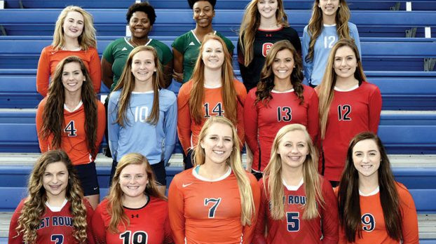 County All Volleyball Team