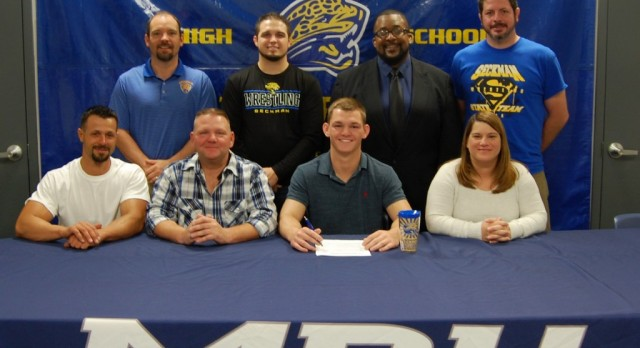 Nathan Kerperien Signs with Missouri Baptist