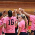 Bowie Volleyball Celebrates Breast Cancer Awareness Month
