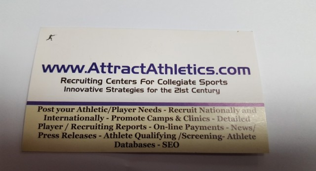 Get in touch with colleges today and get recruited!