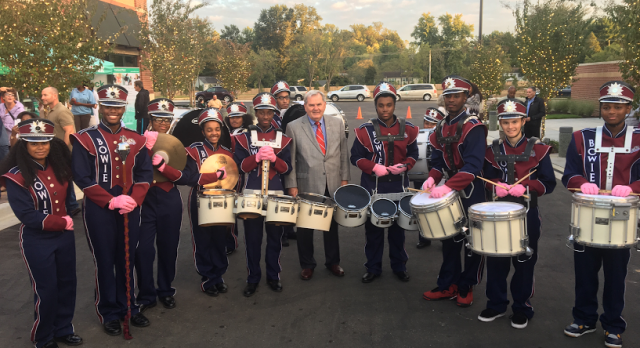 Bowie Band Performs at Grand Opening of Bowie Market Place
