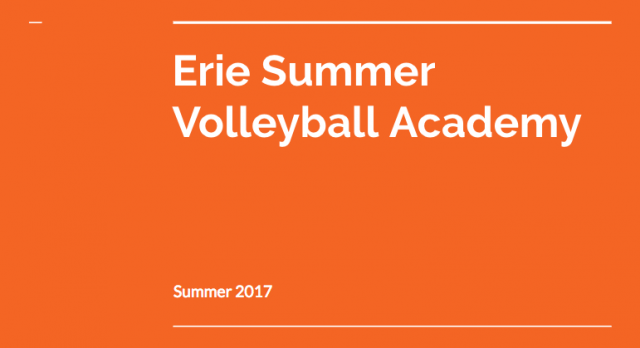Summer Volleyball Program Information