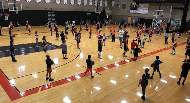 Basketball Summer Youth Clinics 3rd-8th Grades