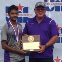 Angel Palacios: State Tennis Champ!
