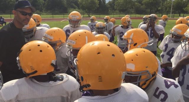 Young Pups Get Their Shot: Everman Jr. High Football