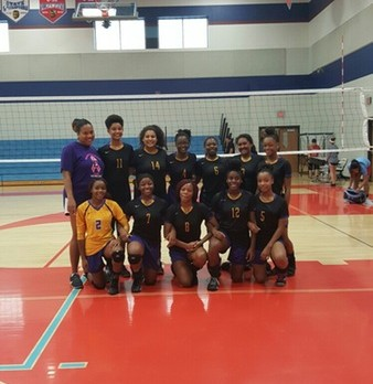 J.V. Volleyball Takes 2nd In Castleberry Tourney