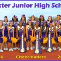Baxter Jr. High Volleyball, Football, & Cheerleading