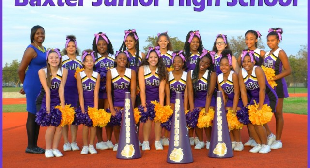 Team Picture: Jr. High Volleyball, Football, & Cheerleaders
