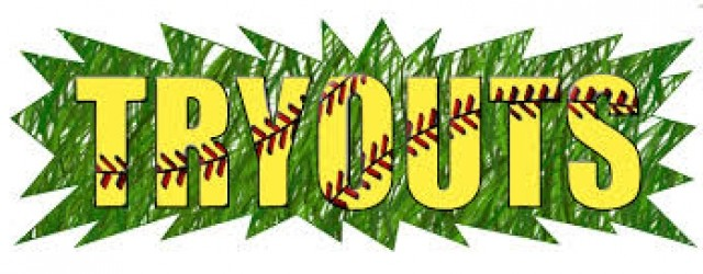 Softball Tryouts!!! = Jan 20 from 3:30 – 6:15