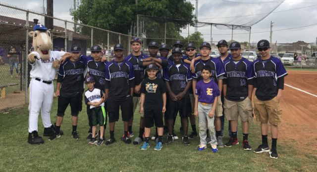 Opening Day Ceremony: Everman Youth Baseball Association