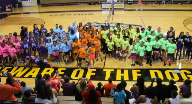 Spike Fest!!! Volleyball 3rd-6th Grade Camp & Tourney = 200+ Pics.