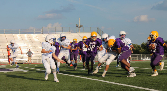 Jr. High Football Wins Big Vs. Joshua: 20 + NEW PICS!!!!!