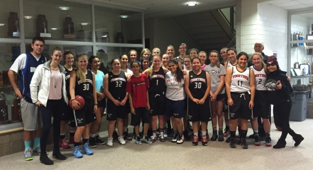 Alumni Visit Miners Girls Basketball