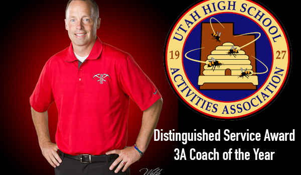 Coach Murphy Selected as UHSAA Distinguished Service 3A Coach of the Year