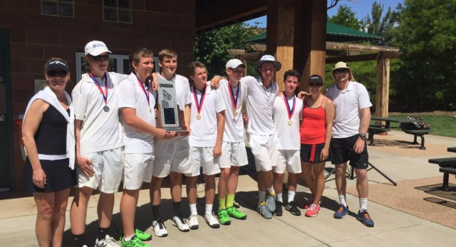Park City High School Boys Varsity Tennis finishes 2nd place