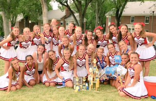 Miners Cheer Squad Attends Camp at Utah