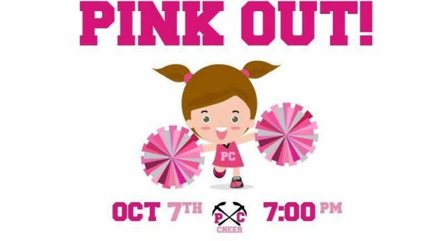 Pink Out Game set for Friday, October 7th vs Ridgeline