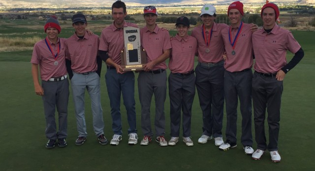 Park City High School Boys Varsity Golf finishes 1st place