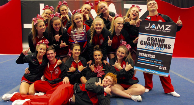 PCHS Cheer Qualifies for JAMZ Nationals